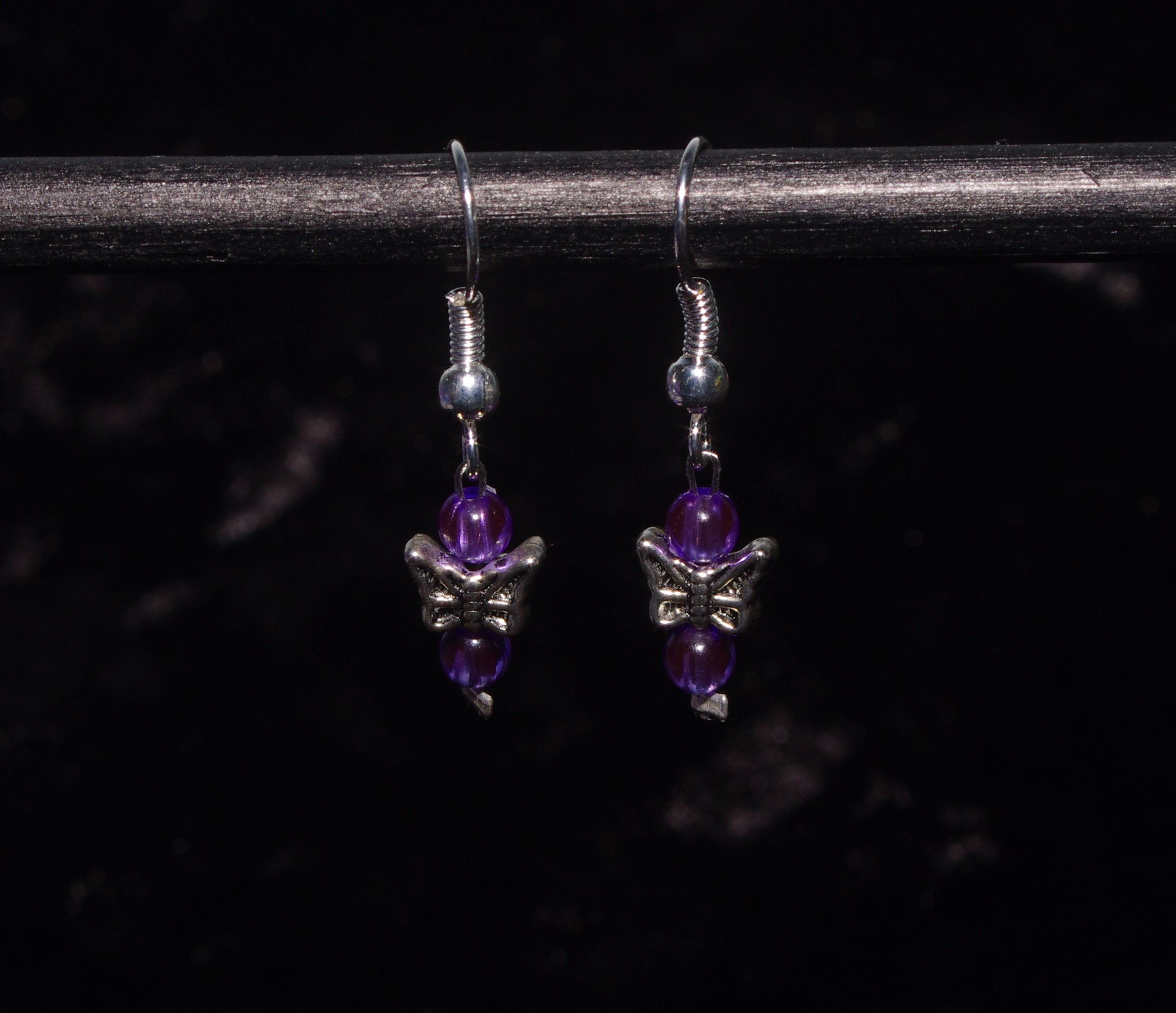 Butterfly Jewel earrings