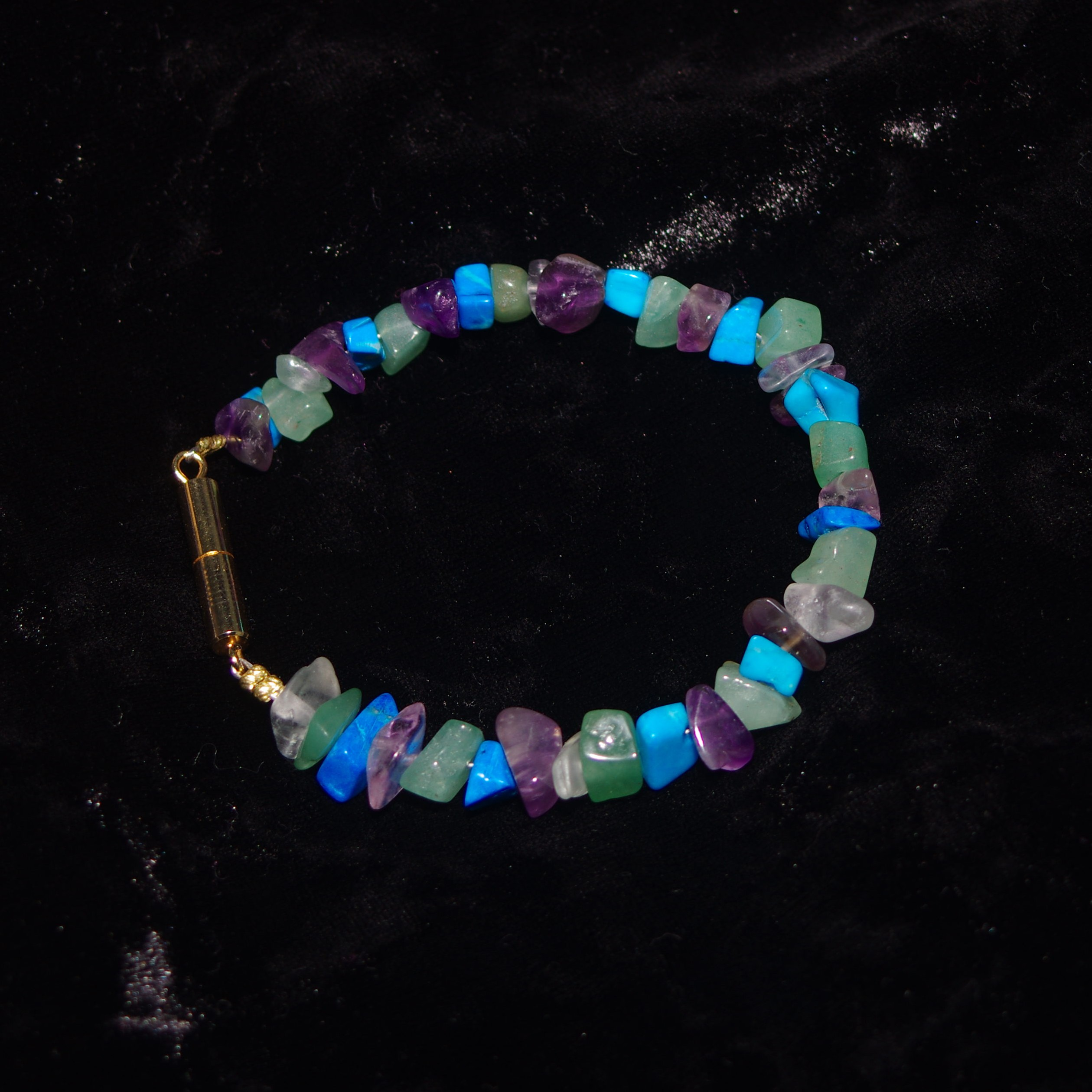 Cool-Tone Jewel bracelet